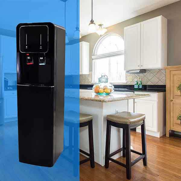No More Bottled Water With The Floor Model Water Dispenser